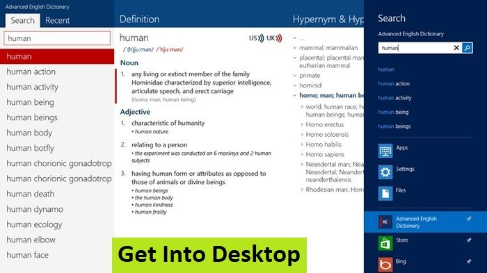 Advanced English Dictionary 2 2 0 0 Free Download - Get Into PC