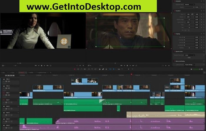 DaVinci Resolve Studio 15 2 2 Free Download - Get Into PC