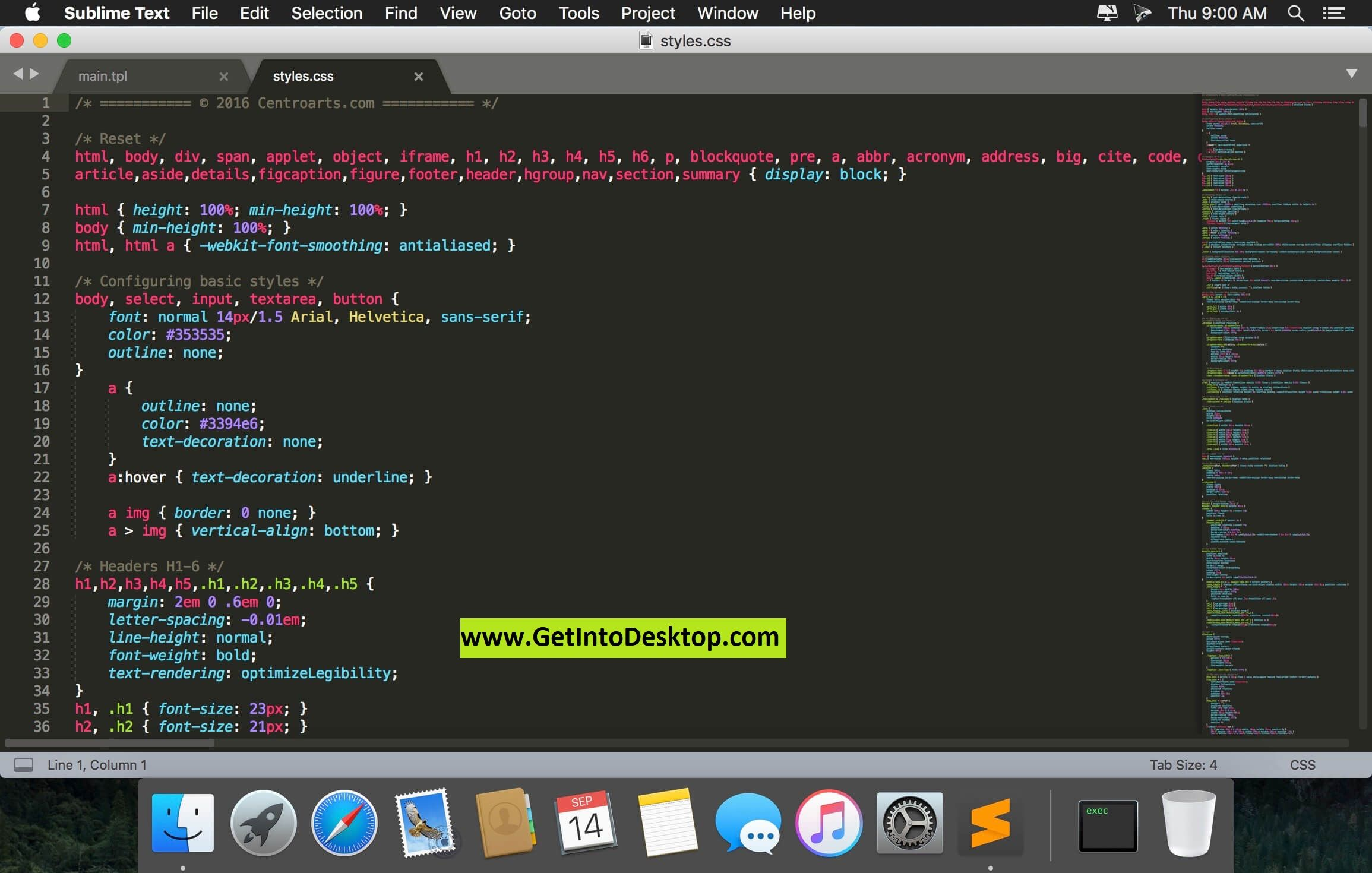 Sublime Text 3 1 1 For Mac OS Free Download - Get Into PC
