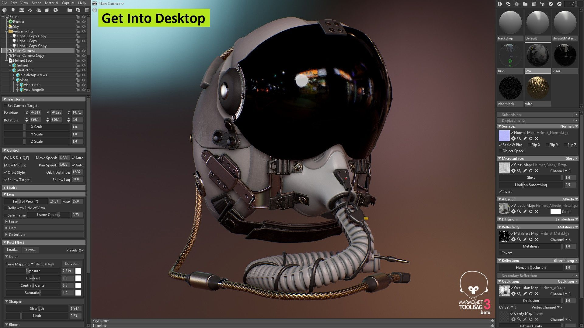 Marmoset Toolbag 3 05 Free Download - Get Into PC