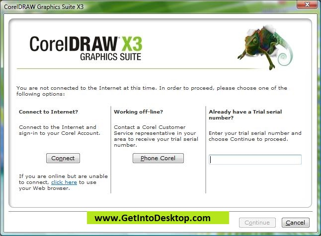 free download corel draw x3 portable full crack