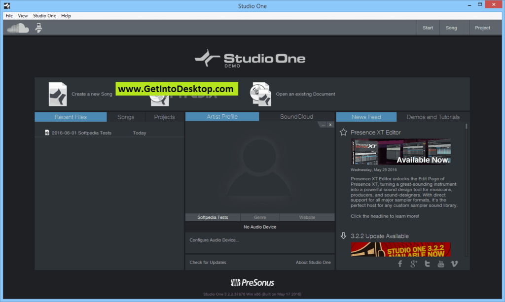 Studio One Professional 4 0 1 Build 48247 Free Download - Get Into PC
