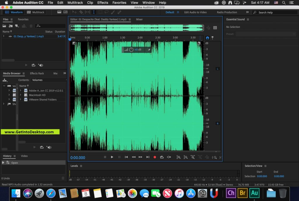 Adobe Audition CC 2019 for Mac Free Download - Get Into PC