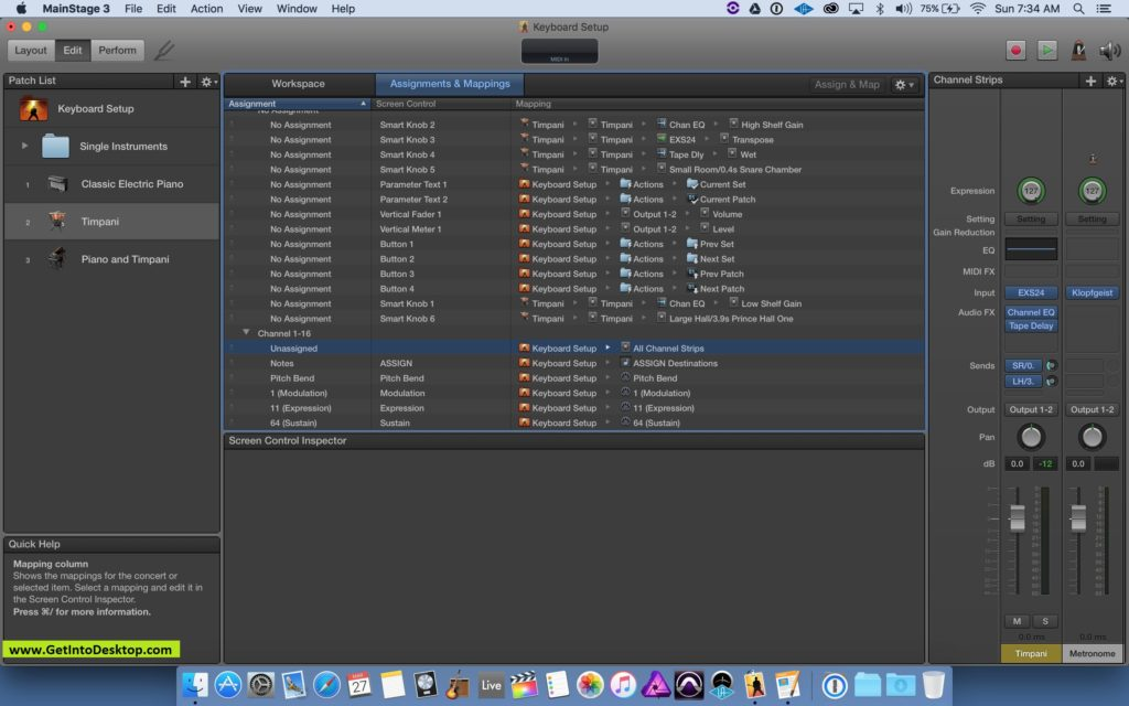 Apple MainStage for Mac 3 4 2 Free Download - Get Into PC
