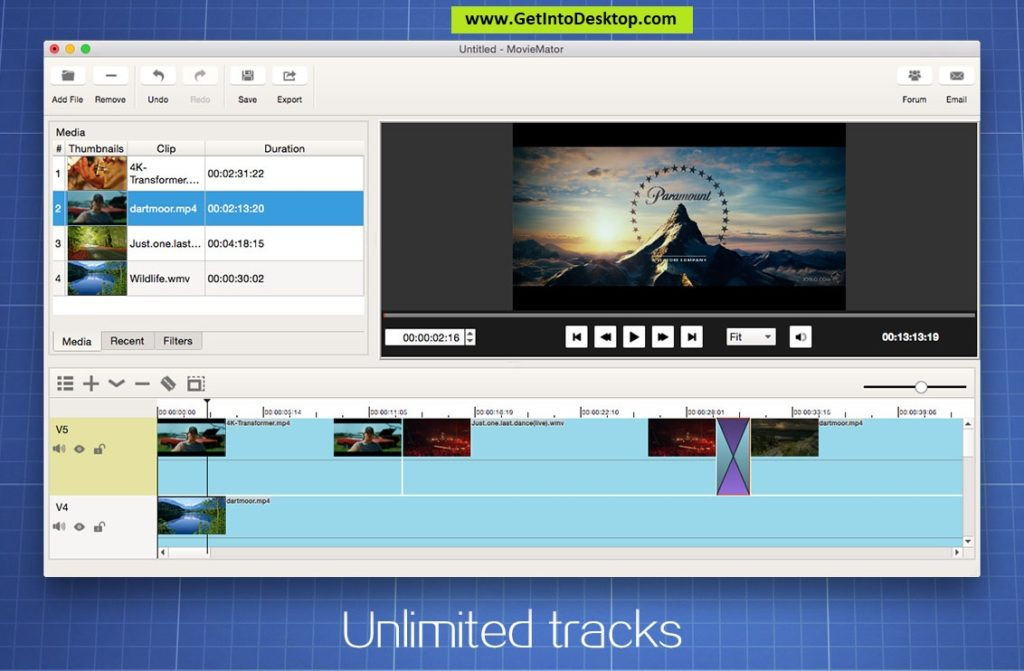 MovieMator Video Editor Pro 2 5 4 for Mac Free Download - Get Into PC