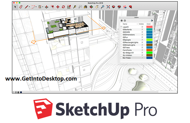 SketchUp Pro 19 0 685 free Download - Get Into PC