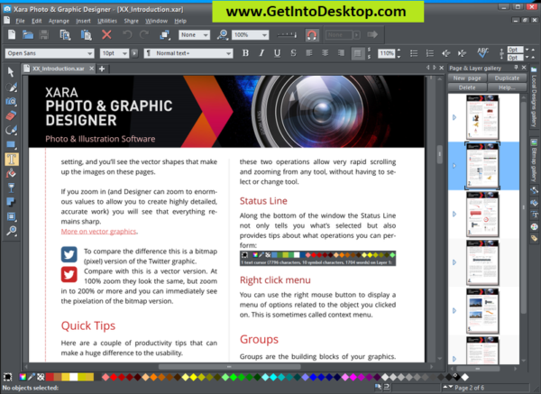 Xara Photo & Graphic Designer 16 1 Free Download - Get Into PC