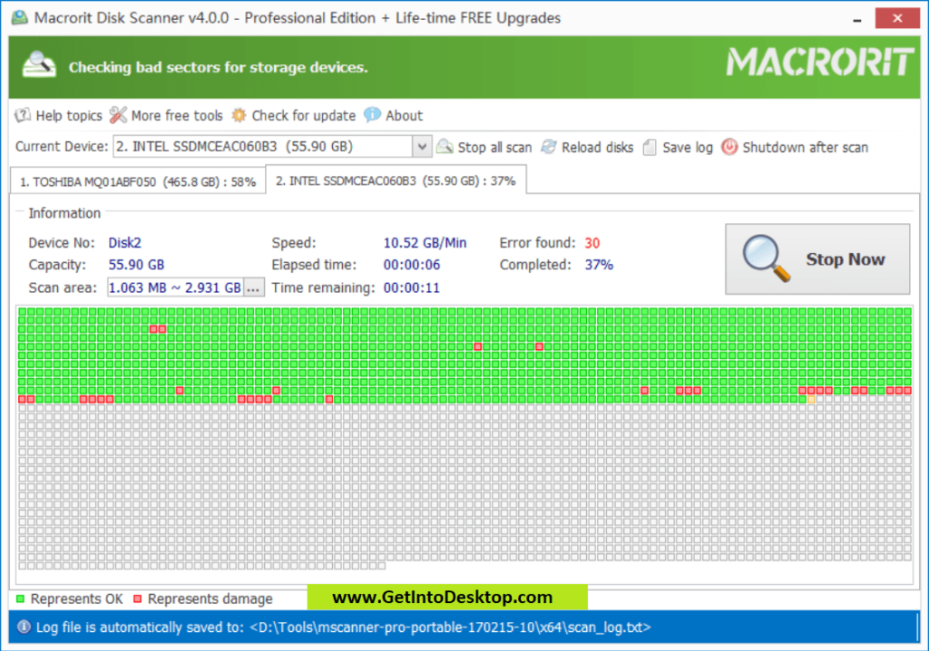 Macrorit Disk Scanner 4 3 Free Download - Get Into PC