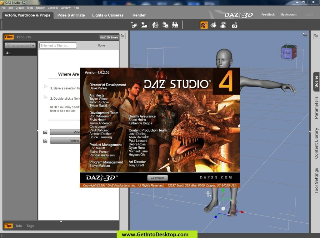 DAZ Studio Pro 4 11 0 free Download - Get Into PC