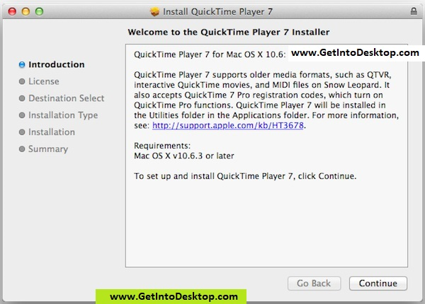QuickTime Player 2019 for Mac free Download - Get Into Desktop