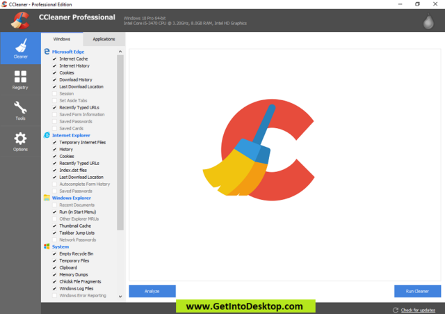 CCleaner Professional Edition 5 60 7307 Free Download - Get