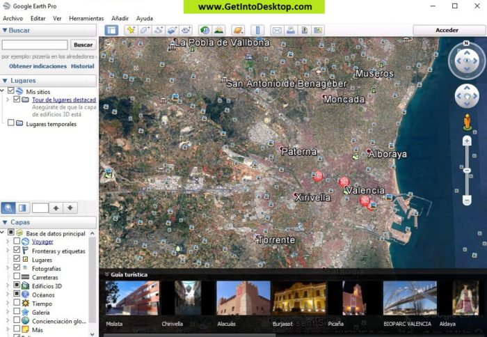 Google Earth Pro 7 3 2 Free Download - Get Into PC